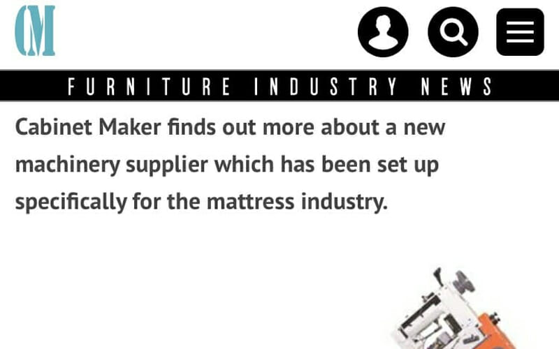Read All about us in Cabinet Maker Magazine